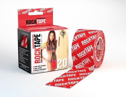 RockTape H2O, 5см х 5м, красный логотип