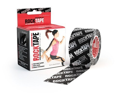 RockTape, 5см х 5м, Silver Logo RCT100-SLLG-OS