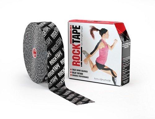 RockTape, 5см x 32м, Silver Logo