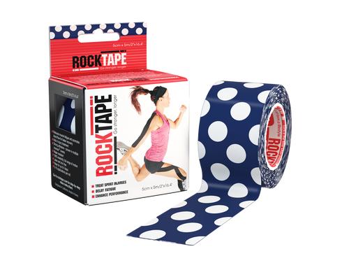 RockTape, 5см х 5м, Polka Dot RCT100-PD-OS