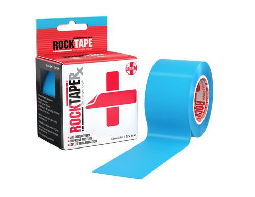RockTapeRx, 5см x 5м, голубой RCT100-BL-OSRX