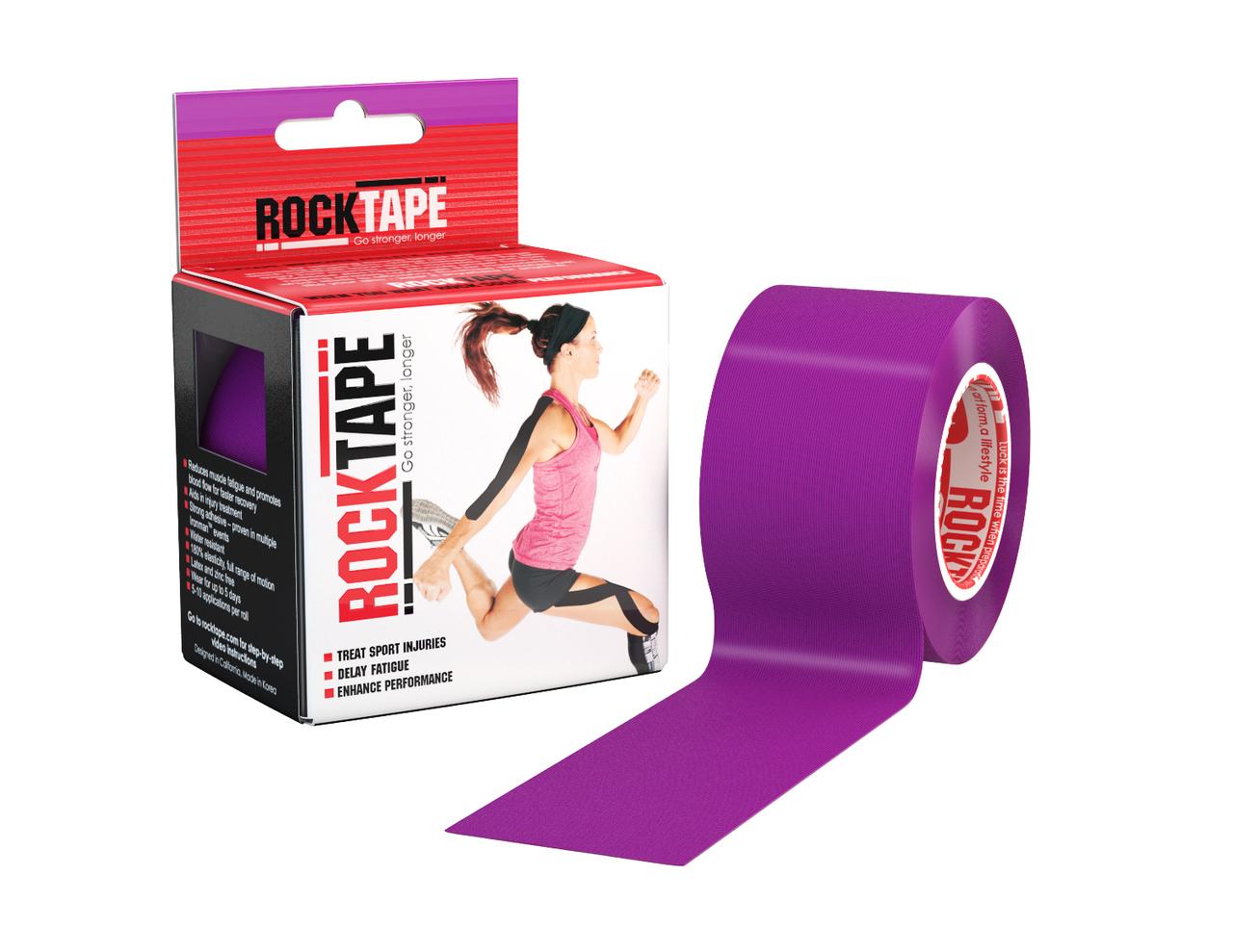 RockTape, 5см х 5м, фиолетовый RCT100-PU-OS