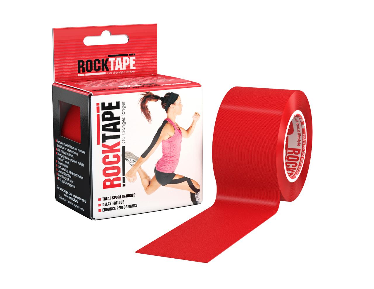 RockTape, 5см х 5м, красный RCT100-RED-OS