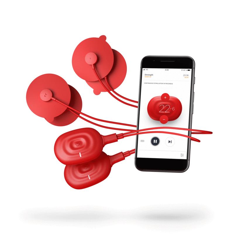 PowerDot Duo 2.0, красный Duored2
