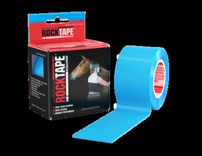 RockTape, Equine, 5см x 5м, голубой (для лошадей)