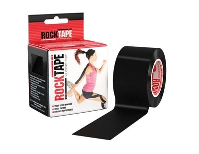RockTape, 5см x 5м, черный
