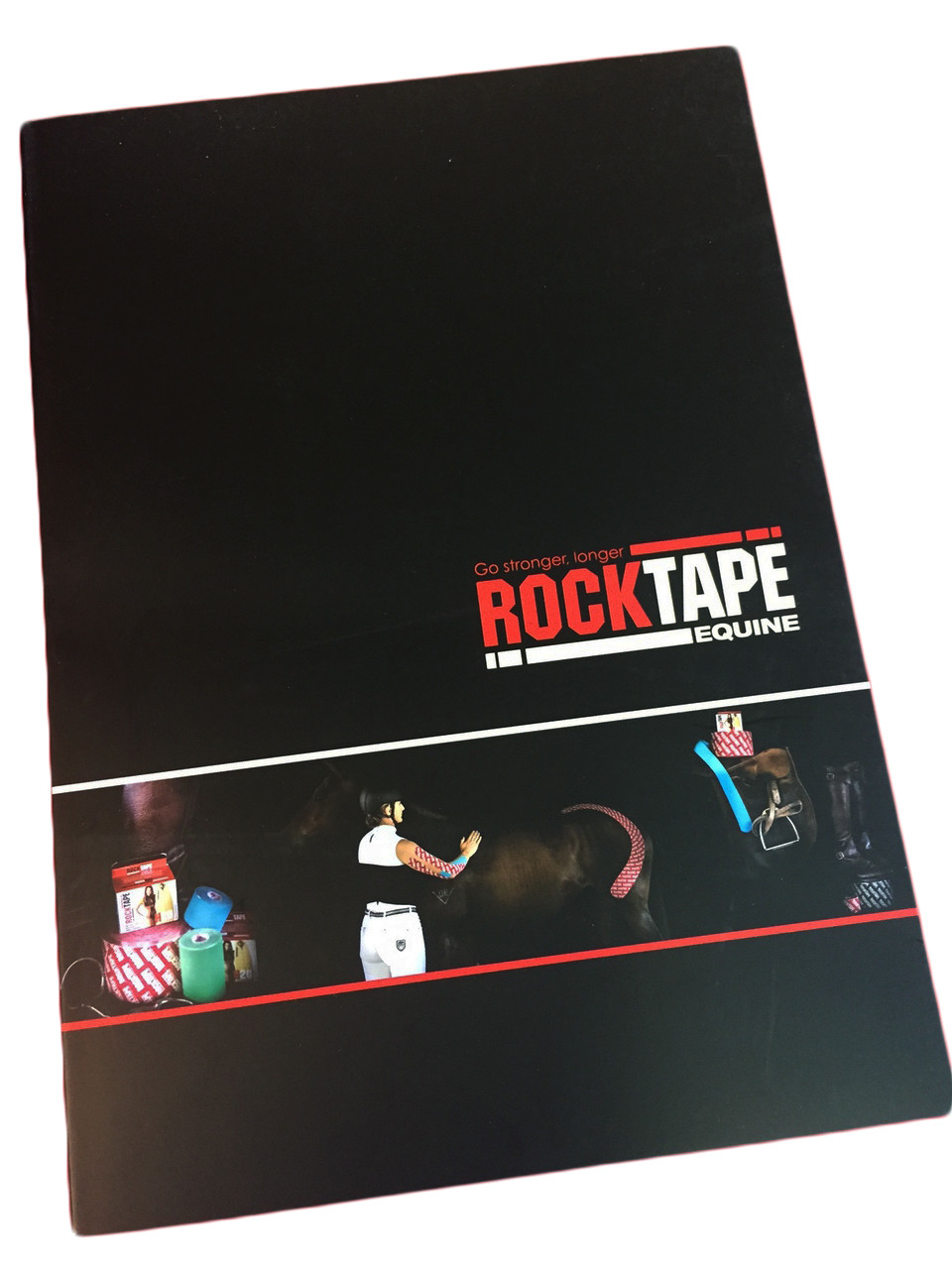 RockTape, книга, Equine Taping Manual, лошади