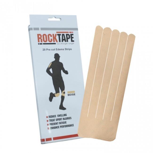 RockTape, Precut Edema Strips, телесный