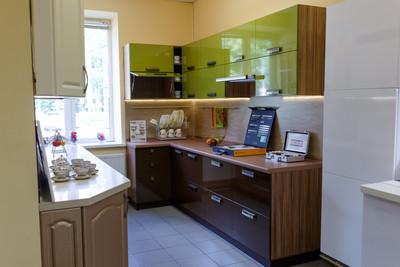 Кухня | Пластик | Lemark | Оливковый венге