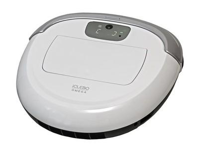 Пылесос-робот iClebo Omega 53Вт белый/серебристый