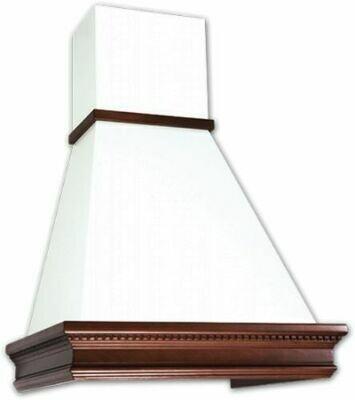 Вытяжка Elikor Вилла 60П-650-П3Л, бежевый/бук светло коричневый
