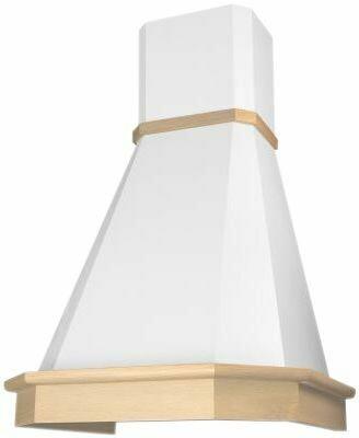 Вытяжка Elikor Камин Грань 60, 60П-650-П3Л, бежевый/бук крем патина+золото