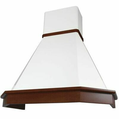 Вытяжка Elikor Камин Грань 90П-650-П3Л, бежевый/бук светло коричневый