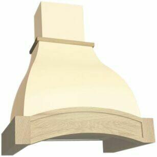 Вытяжка Elikor Аркада 60П-650-П3Д, белый муар/дуб неокр