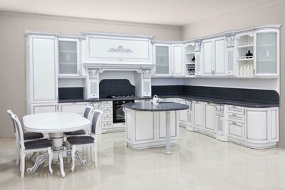Кухня   Бук   Белый   Афродита