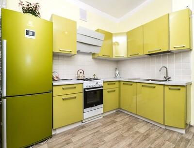 Кухня | Пластик | Lemark | Светлый оливковый