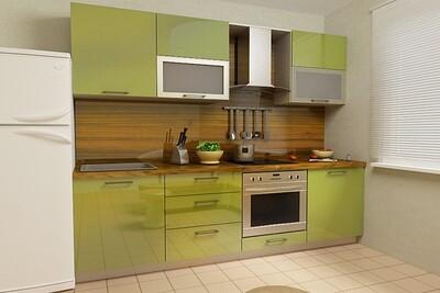 Кухня | Пластик | Lemark | Оливковый