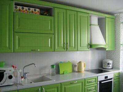 Кухня | Пленка | Рамка | Яблочный мат