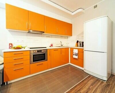Кухня | Пленка | Мат | Апельсин
