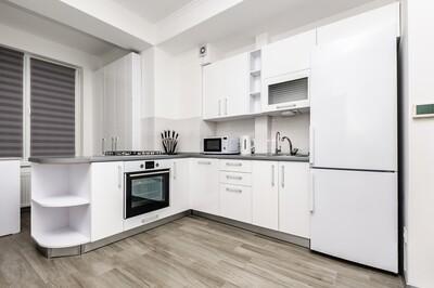 Кухня | Пленка | Мат | Белый