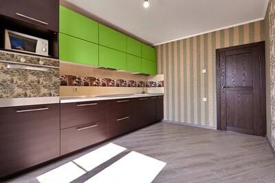 Кухня | Пленка | Мат | Зеленый венге