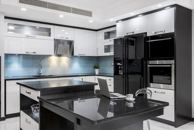 Кухня | Пленка | Глянец | Белый 3