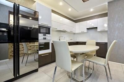 Кухня | Пленка | Глянец | Древесный белый