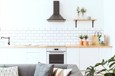 Кухня | Пленка | Интегра | Скандинавский белый