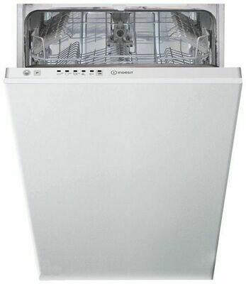 Посудомоечная машина Indesit DSIE 2B10 узкая белый (встраиваемая)