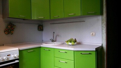 Кухня | Пленка | Глянец | Яблочный 2
