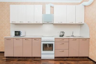 Кухня | Пленка | Глянец | Молочный розовый
