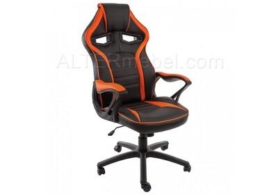 Monza черное / оранжевое