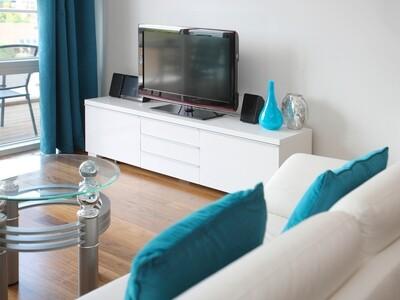 TV-консоль | Белый матовый