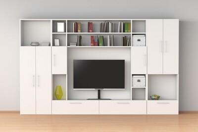 TV-консоль | Белый модерн 2