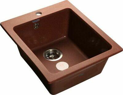 Кухонная мойка Granfest Practic GF-P-505, 1-чаша, 505x430 мм