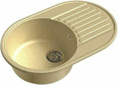 Кухонная мойка Granfest 740 GF-Quarz (ECO-18)