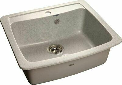 Кухонная мойка Granfest Standart GF-S605, Серый, разм. 605х510