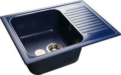 Кухонная мойка Granfest Standart GF-S645L, Синий, с крылом, разм. 645х500
