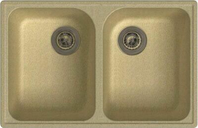 Кухонная мойка Granfest 740 GF-Quarz (ECO-15)