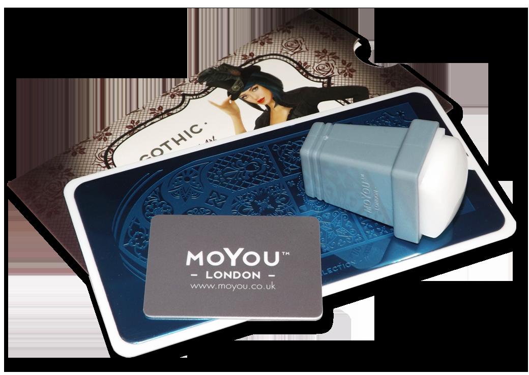 Штамп для стемпинга прямоугольный, MoYou London