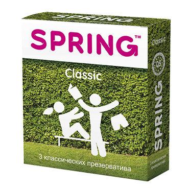 Презервативы Spring Classic, 3 шт.