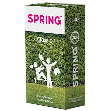 Презервативы Spring Classic, классические - 9 шт