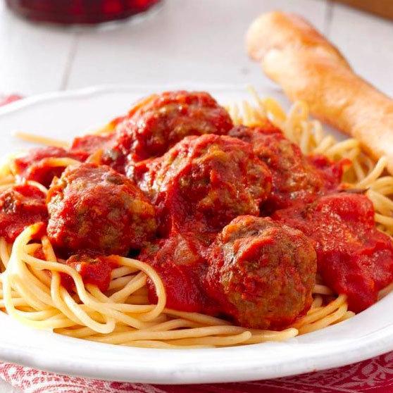 January 26 - Spaghetti and Meatballs