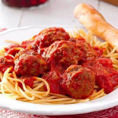 Spaghetti and Meatballs - January 27