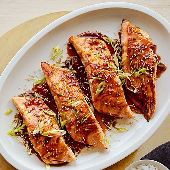 Salmon Teriyaki - January 21