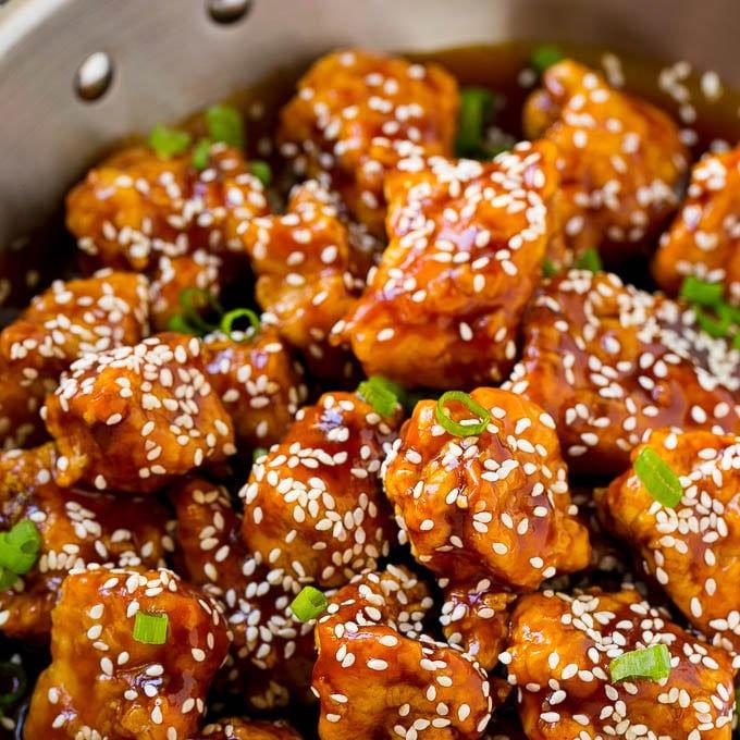 January 20- Sesame Chicken