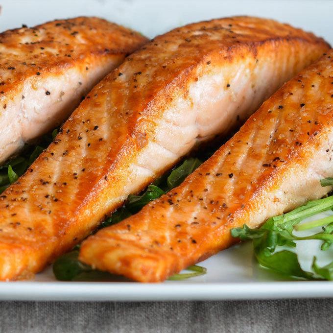 January 23 - Salmon, with Lemon Herb