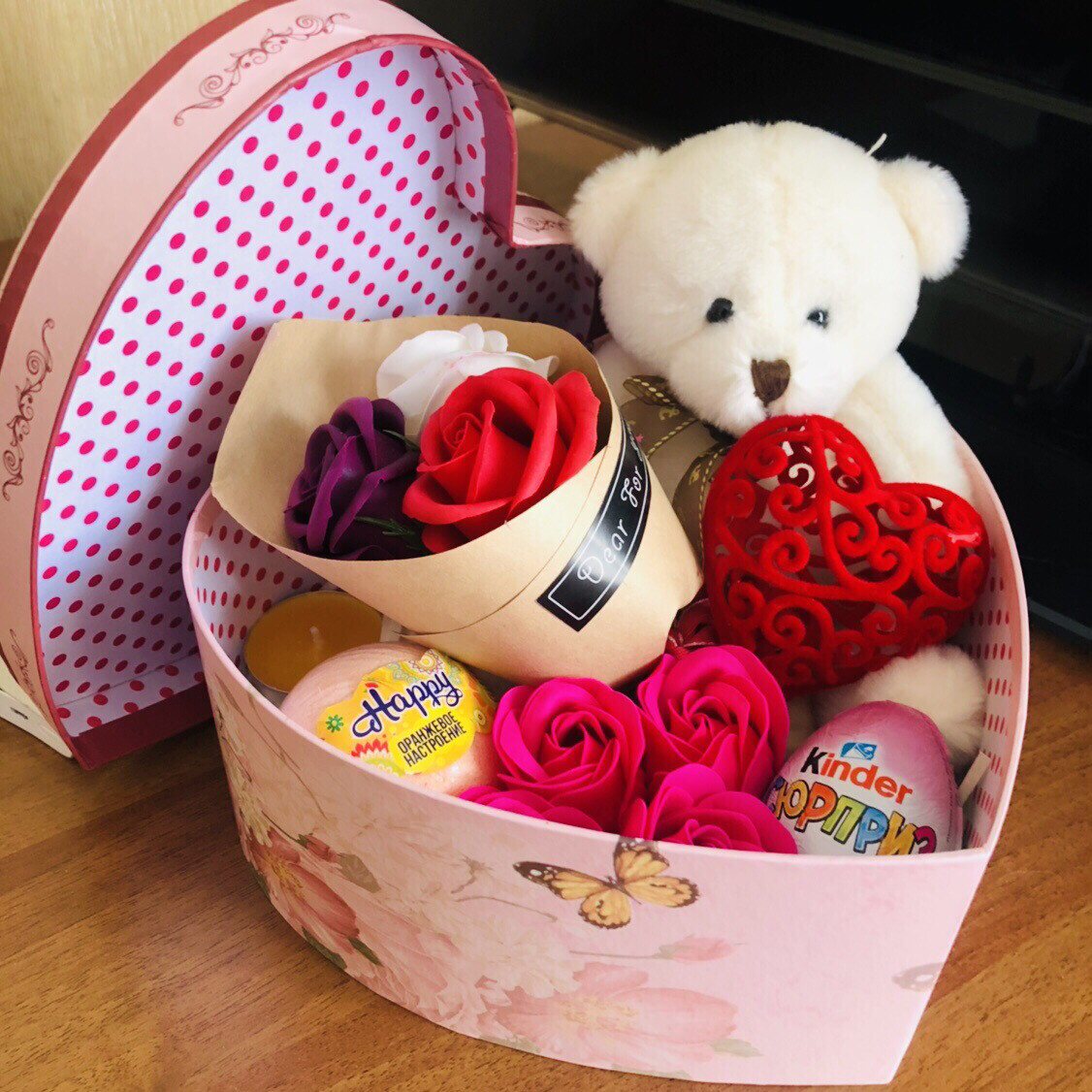 Набор «Сердечная коробочка»