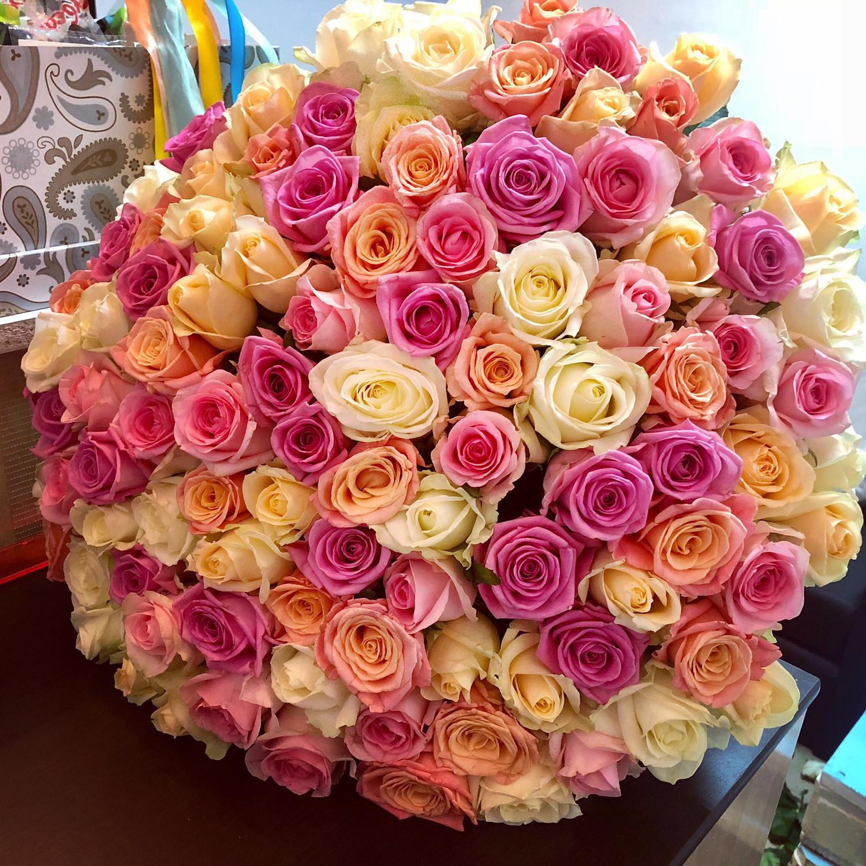 101 роза «Бриллиант»