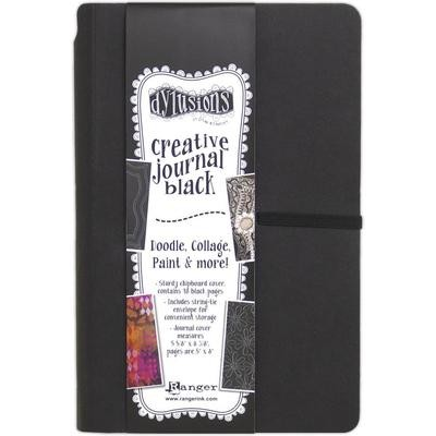 Dylusions Creative Journal Black 5